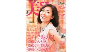 光文社 美ST 2015年5月号に「ワカサプリ ビタミンC」が紹介されました。