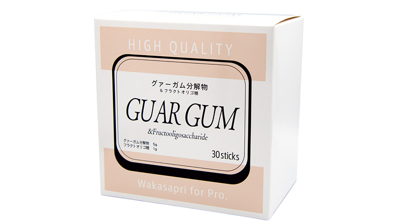 Wakasapri for Pro.グァーガム分解物&フラクトオリゴ糖